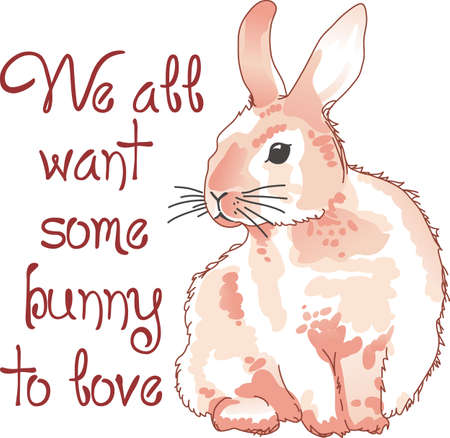 jackrabbit: This adorable little jackrabbit is perfect for your classroom.  Include this rabbit when decorating.  The students will love it! Illustration