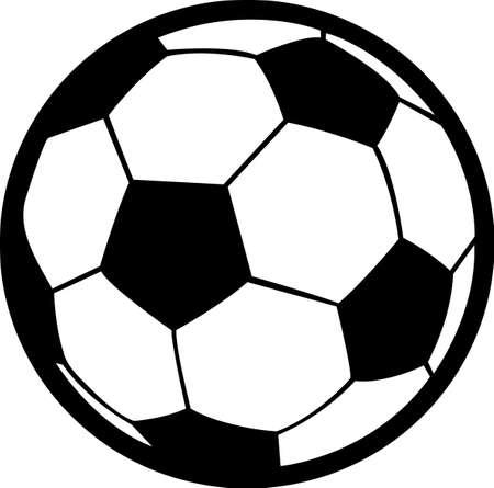 Fans en spelers toon uw teamgeest. Kom maar op! Stuur ze deze naar uw speler, zullen ze love it! Stock Illustratie