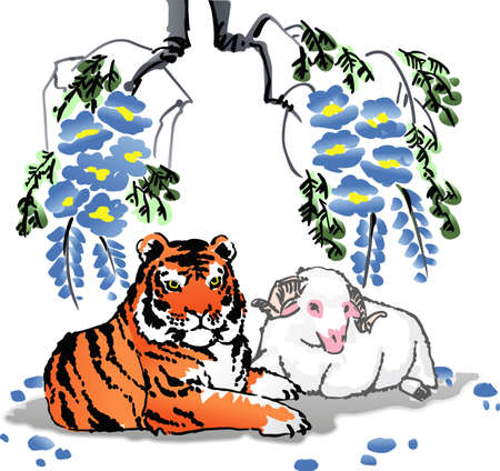 wildcats: The tiger will lay with the lamb is a beautiful design.  Get these designs from Great Notions.