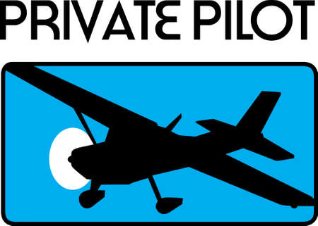 A pilot loves to fly their plane.  This is a beautiful design to take with them. Illusztráció