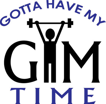 Lifting weights is great exercise.  Get these designs for your trainer from Great Notions.