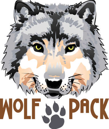The strength of the wolf is the pack and the strength of the pack is the wolf. Çizim