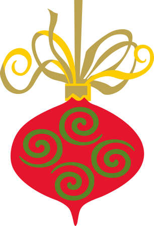 Send holiday cheers with these beautiful Christmas ornaments. Pick those designs by Great Notions! Ilustração