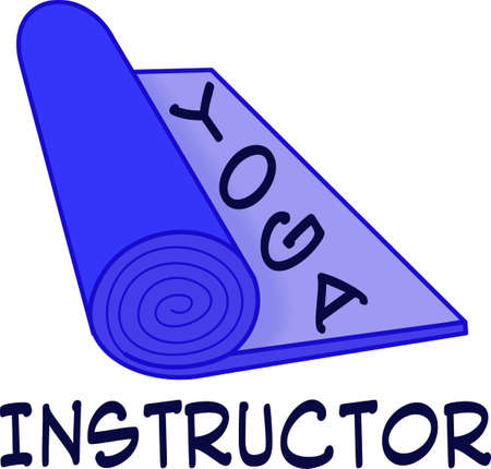 Yoga is great exercise.  Get these designs for your trainer from Great Notions. Иллюстрация