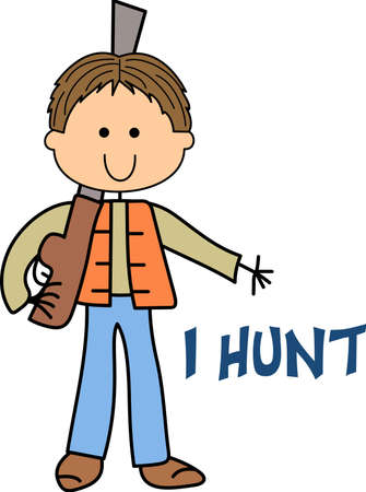 hunters: Life is simple, go hunting!  Get matching items for everyone in your group, they will love it!