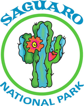 This beautiful flowering cactus is perfect to add to your Southwest design.  Get these designs from Great Notions. 向量圖像