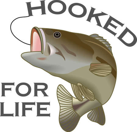 freshwater: Dont forget this cute design when you go fishin.  This design is perfect to take with you when you go.  Everyone will love it!