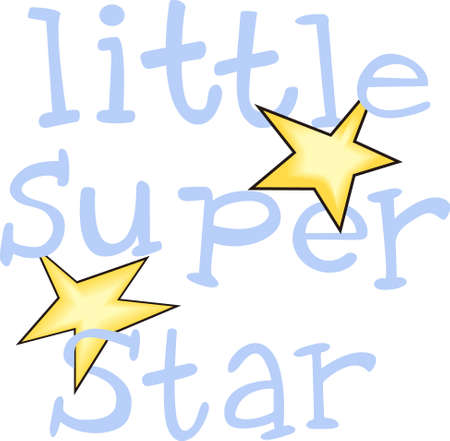 superstar: Give this superstar to your child to see them light up with joy when they see this neat design.