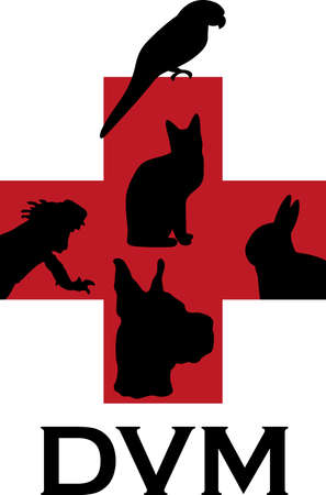 A veterinarian and their assistants love and care for animals.  This is a perfect design to thank them from Great Notions.