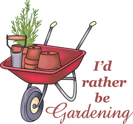 flowerpots: This is perfect for gardeners who enjoy working in the yard so everyone will enjoy their flowers.  They will love it!