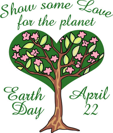 reminding: Show your love for mother Earth.  Send this to someone you know who need reminding what they can do to help the environment.  They will love it! Illustration