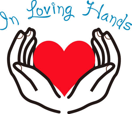 It is good to know that your heart is in loving hands.  This is a beautiful image from Great Notions.
