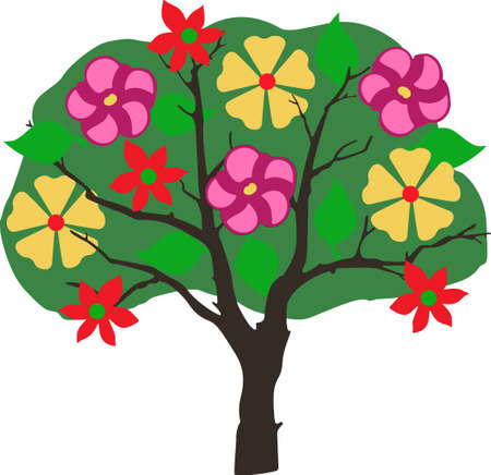 limbs: This tree design is perfect for springtime.  Another cute image from Great Notions! Illustration