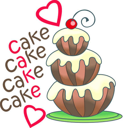 Show your pride for your talent for cake decorating.  Its the perfect advertisement.  Everyone will love them! Illustration
