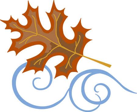 가을에 꾸미는 것이 너무 재미 있습니다. 당신의 디자인과 함께 바람에 가을 잎을 포함해야합니다. 반원들이 그것을 좋아할 것입니다! 스톡 콘텐츠 - 45057965