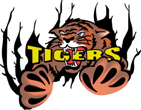 siberian tiger: Show your team spirit with this Tigers  .  Everyone will love it!