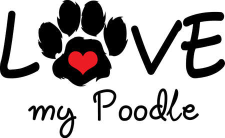 Send your friends these cute paw prints! My dog walks all over me.  Its sure to bring a smile!