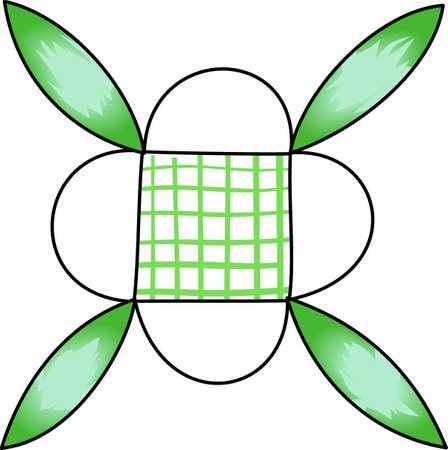 Quilten is zo'n bijzonder talent die tijd geduld vereist. Geef dit quilten bug ontwerp voor hen. Ze zullen love it! Stockfoto - 45096620