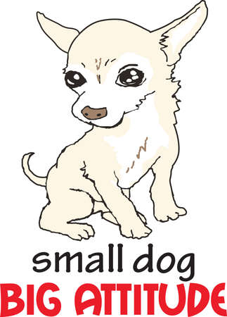 mongrel: Show everyone how much your dog means to you.  They will love it! Illustration