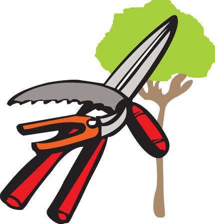 tree trimming: This is perfect for gardeners who enjoy working in the yard so everyone will enjoy their flowers.  They will love it!