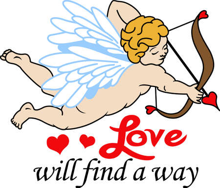 Looking for a cool Valentine\'s gift.  Look no further than this cupid arrow heart.