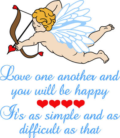 cherubs: Looking for a cool Valentines gift.  Look no further than this cupid arrow heart.