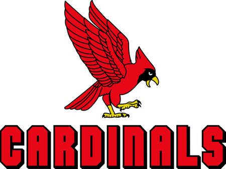 Show your team spirit with this Cardinal  .  Everyone will love it!