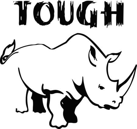 Show your support to save the rhinos 版權商用圖片 - 45166371