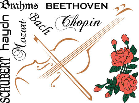 Questo disegno violoncello è perfetto per il vostro studente di banda. Archivio Fotografico - 45166378