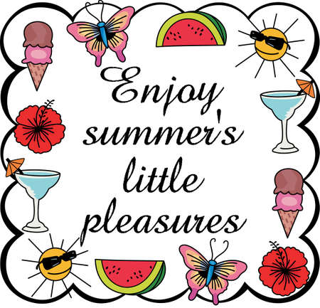 mixed drink: This is a cute design of all the favorites of summertime.  These are perfect to go on a picnic.  Everyone will love them!