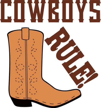 Yee haw!  This is a cute design for your cowboy.  He will love it! Çizim