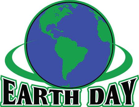 Muestre su amor a la madre tierra. Enviar esto alguien que usted sabe que necesitan recordar lo que pueden hacer para ayudar al medio ambiente. Se les va a encantar! Foto de archivo - 45168299