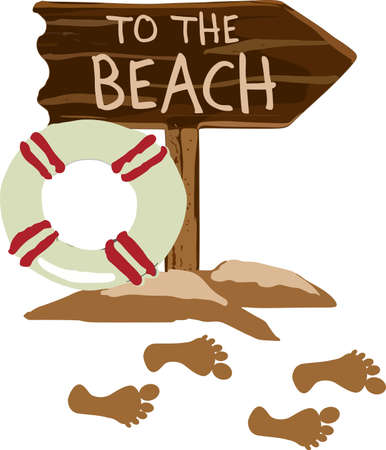 Grab your flip flops, your chair and go relax on the beach!  Dont forget to take this with you, everyone will love it!