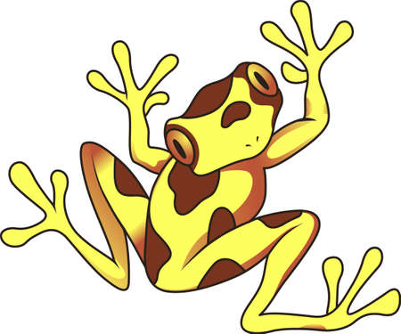 froggy: Give this adorable toad to the one you love!   Illustration
