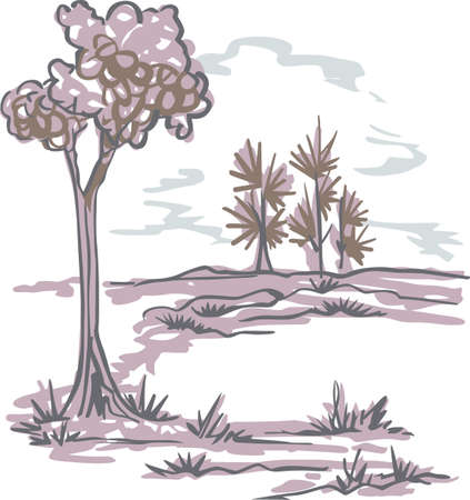 delftware: The country scene is a relaxing place to visit and get away from the fast pace of the city.  This is a cute design from Great Notions.