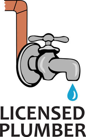 Its the perfect advertisement for your plumbing business.  Get these designs from Great Notions. Ilustrace