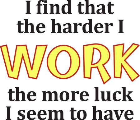 Work harder millions on welfare depend on you.   Иллюстрация