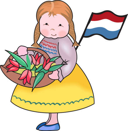 dutch girl: Be proud of your Dutch heritage with this sweet design from Great Notions.