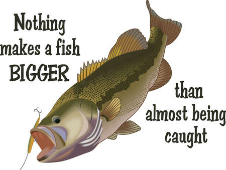 anglers: Dont forget this cute design when you go fishin.  This design is perfect to take with you when you go.  Everyone will love it!