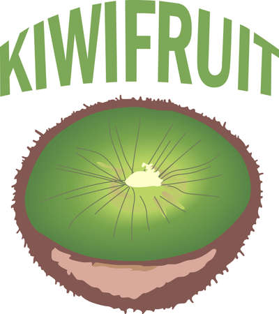 kiwi fruit: The kiwi fruit is a perfect summertime treat.  Add these to your next picnic. Illustration