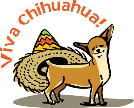 I love my chihuahua.   向量圖像