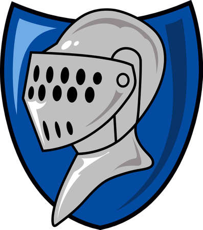 The knight in shining armor is the perfect design for the Renaissance fair.