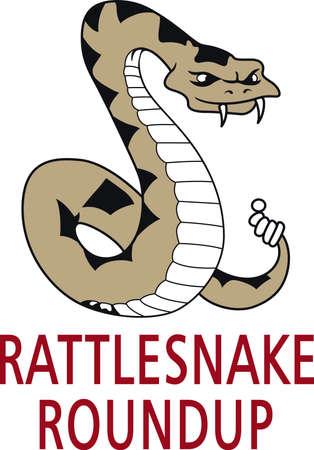 serpiente de cascabel: La serpiente se utilizó en la bandera