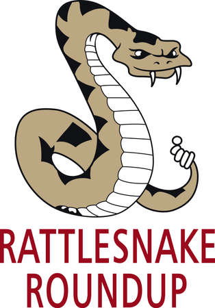 rattle snake: The snake was used on the flag