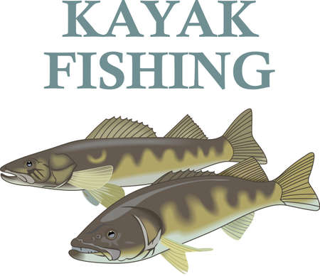 pickerel: Dont forget this cute design when you go fishin.  This design is perfect to take with you when you go.  Everyone will love it!