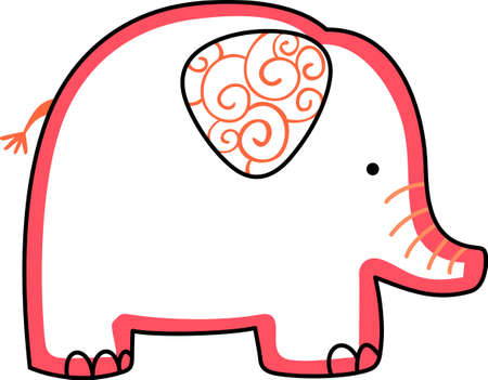 This adorable elephant ate my homework.  Send this happy elephant to a child.  They will love it!