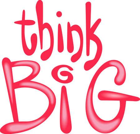 この心に強く訴えるメッセージを使用して、あなたの教室。 ビッグを描く!