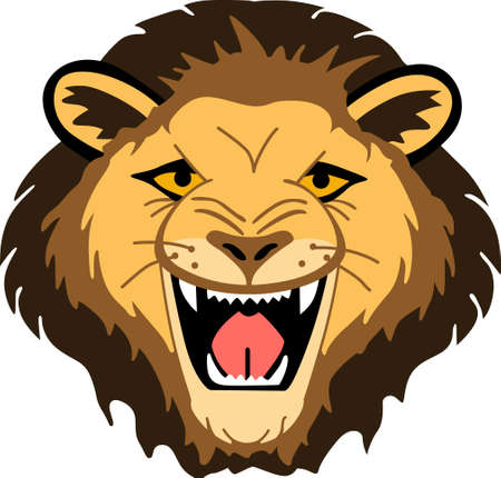 mountain lion: Show your team spirit with this lion  .  Everyone will love it!