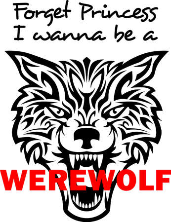 Forget being a princess, I want to be a werewolf.