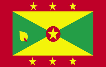 Be proud of your heritage with this flag from Grenada.